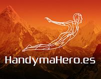 Logo design for a company HandymaHero.