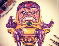 MODOK Watercolor