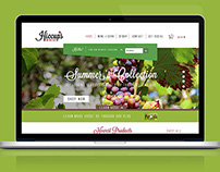 Hiccups Winery Website