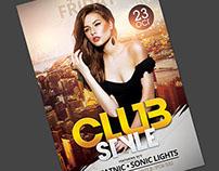 Club Style Flyer