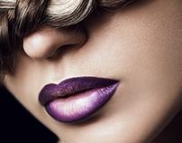 Nastya. Ombre lips