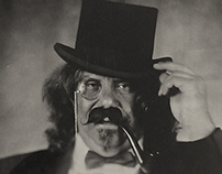 Collodion Circus and Freak Show Ambrotype