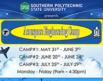 Aerospace Engineering Camp Flyer Redesign