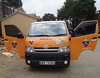 D.P.L.Festive Staff Van & Sales Personnel Vehicles