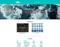 ASE Europe Wordpress Website Design
