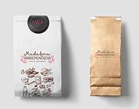 Branding / Madalena Arrependida - Doces Gourmet