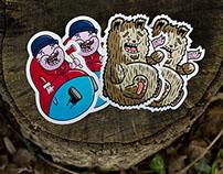 Fatty Stickers