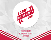 FCD Scarf of the Month Program
