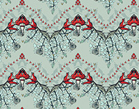 Wallpaper pattern design 24 Edouard Artus ©2014