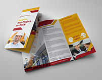 Construction Business Tri-Fold Brochure Vol.3