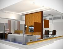 Simple house interior visualization