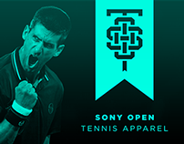 Sony Open Tennis Apparel
