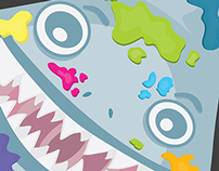 Fish and Ships - Shark Themed Exhibition Posters