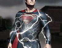 Man Of Steel Image Manipulation