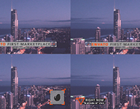 Glitch Lower Thirds // Videohive