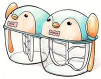 Penguin Dual Ice Cream Maker Concept