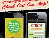 Pizza Fusion App Launch