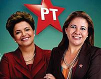 Cartaz campanha politica