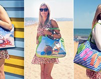 Beach Bag Photo Shoot