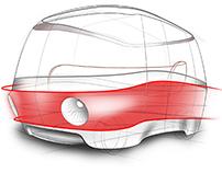 Praha - Prague Taxi Concept