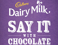 Say It with Chocolate CNY Campaign