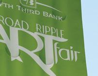 2011 Broad Ripple Art Fair Banners