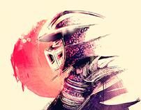 Shredder x TMNT