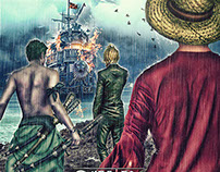 movie poster : one piece: D