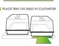 Urban Cultivator Instructional Illustrations
