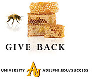 Advertisements for Adelphi University