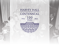 Harvey Hall Centennial Identity