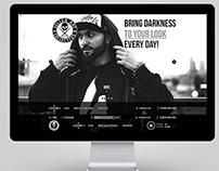 Internet shop design for «Sullen Clothing»