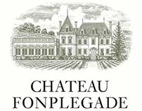 Chateau de Fonplegade Illustrated by Steven Noble