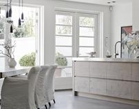Interior Appartment Bergen by Piet Jan van den Kommer