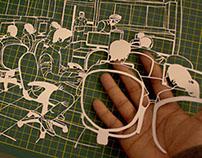 Workplace paper cut