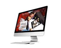Photographers Landing page site design