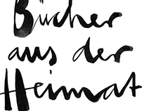 Handlettering for Morawa bookstore Vienna