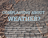 Complaining about weather? Beat the Drum for Change