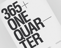 365+One Quarter // Type Journal