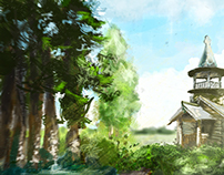 druid's hut / peaceful moments
