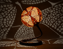 Table lamp XX Butterfly