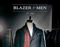 Blazer for Men Fall & Winter 2014/15