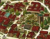 MAP OF ANADOLU UNIVERSITY