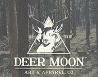 DEERMOON Art & Apparel Logo
