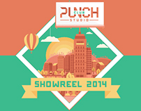 Punch Club Studio Showreel 2014
