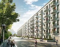 Metronom - Architectural Rendering