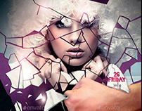 Uncontrolled Flyer Template