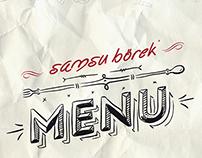 Samsu Börek Menu  -2-