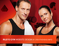 RILEYS GYM - website design
