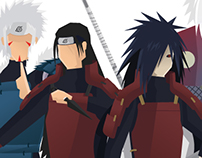 Naruto / Hokagues SET 1